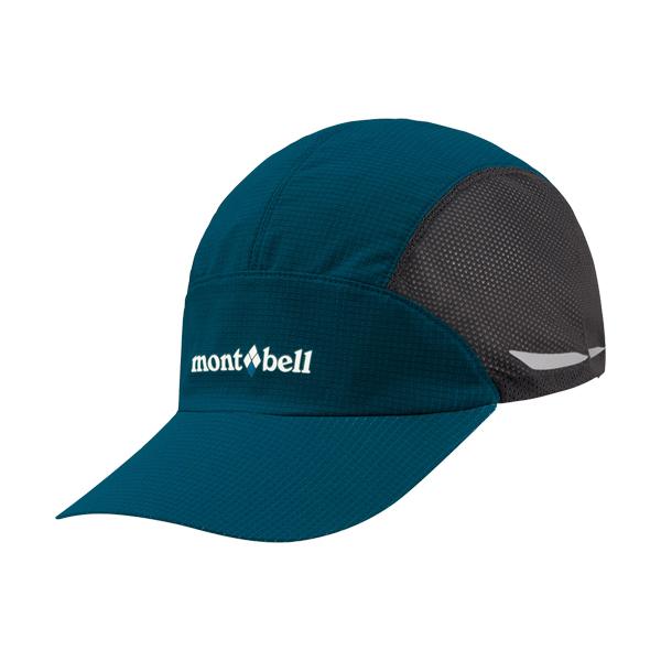 [Mont-Bell] Light Weight Trail Cap 棒球帽 汽油藍 (1118439-DKMA)