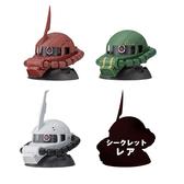 【BANDAI】萬代 扭蛋轉蛋 機動戰士鋼彈 EXCEED MODEL ZAKU HEAD 7 一套全4種