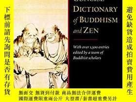二手書博民逛書店A罕見Concise Dictionary of Buddhis