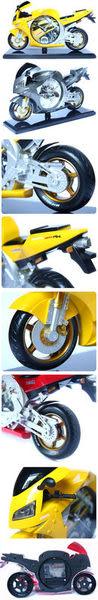 超酷本田摩托車模型鬧鐘
