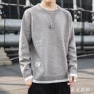 毛衣男厚款潮流寬鬆打底衫秋冬季高領線衣男士針織衫長袖上衣XL1847【東京衣社】