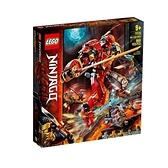 【南紡購物中心】【LEGO 樂高積木】忍者 Ninjago 系列 - 火焰石機械人 (968pcs)71720