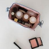 黑五好物節   旅行化妝包韓國小號便攜女化妝袋手拿大容量簡約隨身化妝品收納包   mandyc衣間