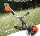 割草機 昕平二沖側掛式割草機 動力割灌機收割機草坪機剪草機修剪機 維多