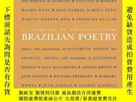 二手書博民逛書店An罕見Anthology Of Twentieth-century Brazilian Poetry (wesl