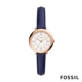 FOSSIL JACQUELINE SMALL 藍色賈姬風尚迷你手錶 26mm