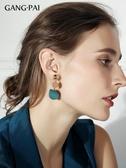 復古顯臉瘦的耳環女長款氣質耳夾2019新款潮網紅韓國時尚大氣耳釘