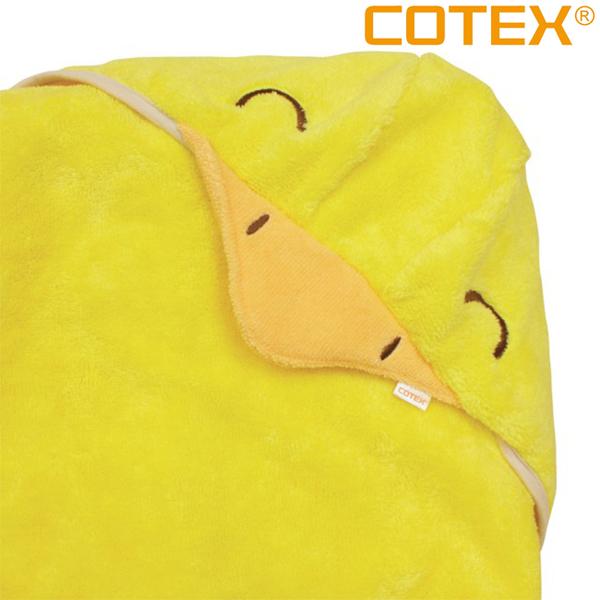COTEX開心達可鴨浴巾