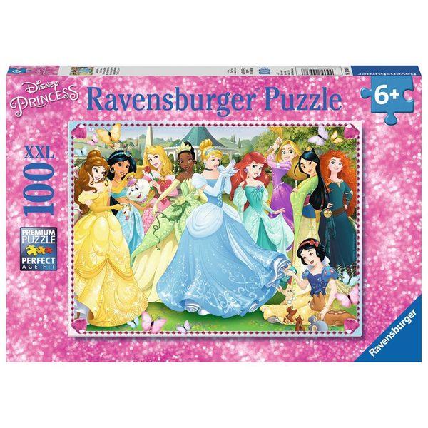 德國Ravensburger維寶迪士尼拼圖 迪士尼公主大集合 (100P)_RV10938