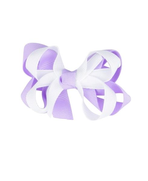 【美國 RuffleButts】髮夾- 雙色俏麗蝴蝶結髮夾 ACBLAOS-PI10
