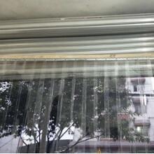 門簾夏季空調透明PVC塑料家用