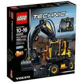 樂高Lego TECHNIC系列【42053 Volvo EW160E 挖土機】