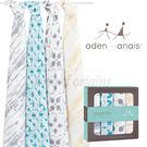 美國Aden+Anais 輕鬆抱寶寶包巾(四入裝) 澳洲限定版 純美南極R103