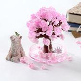 雙12好貨-櫻花樹紙樹開花創意桌面整蠱科學實驗制作