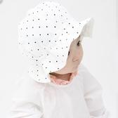 韓國進口嬰兒帽子春秋純棉遮陽帽男女寶寶大檐帽新生兒漁夫帽盆帽【寶媽優品】