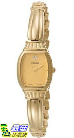 [美國直購 ShopUSA] Seiko Women's SUJF26 Diamond Gold-Tone Watch $5423