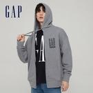 Gap男裝 碳素軟磨系列 Logo法式圈...