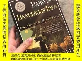 二手書博民逛書店Darwin s罕見Dangerous Idea: Evolution and the Meanings of L
