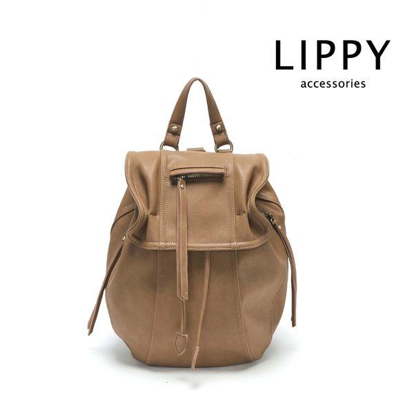LIPPY Regina 芮吉娜-駝 Backpack 後背包