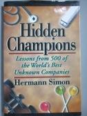 【書寶二手書T7/原文書_YGY】Hidden Champions-Lessons from 500 of the Wo