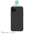 【愛瘋潮】NILLKIN Apple iPhone 11 Pro(5.8吋) 纖盾保護殼 手機殼 碳纖維 背殼 硬殼