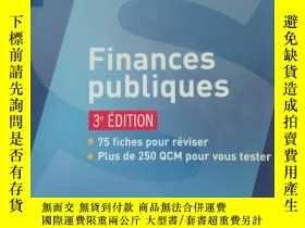 二手書博民逛書店法文原版书罕見Finances publiques 3e édition (Français) Broché –