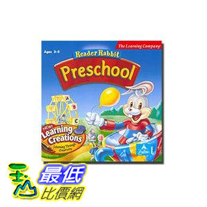 [美國直購 ShopUSA] Reader Rabbit Preschool (Jewel Case)$651