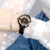 手錶 正韓Lavenda鏤空米蘭腕錶 柒彩年代【NEK43】單支