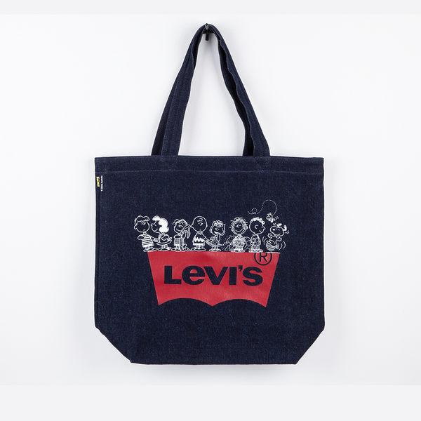 Levis 男女同款 丹寧托特包 / Snoopy限量系列 / 經典Logo