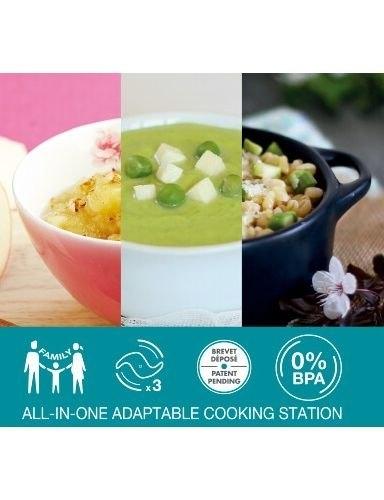 Babymoov 二代多功能食物調理機 /食物料理機.調理器 Nutribaby(+)