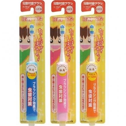 【日本AKACHAN】阿卡將 minimum 兒童電動牙刷 (3歲以上)‧日本製