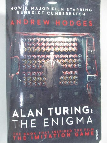 【書寶二手書T1/原文小說_HM4】The Enigma(The Imitation Game)_Andrew Hodges