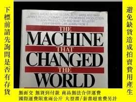 二手書博民逛書店英文原版罕見THE MACHINE THAT CHANGED THE WORLDY254456 womack