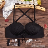 二分之一半杯聚攏神器小胸平胸專用拉B內衣女無鋼圈美背文胸套裝 新北購物城