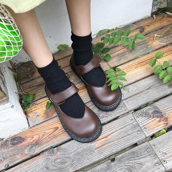 春季新款原宿風ulzzang娃娃鞋日繫森女風學生軟妹小皮鞋百搭 潮流前線