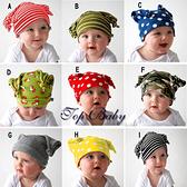 TOP BABY 男童雙塔套頭帽潮帽(9款)