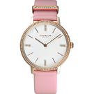 COACH 紐約晶鑽女錶-玫瑰金框x粉紅/34mm CO14503350