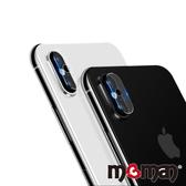Mgman iPhone Xs / iPhone X 鋼化玻璃鏡頭保護貼-雙孔
