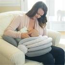 【免運】寶媽喂奶護腰神器母乳坐著躺喂側枕頭胳膊哺乳枕u型媽媽解放雙手