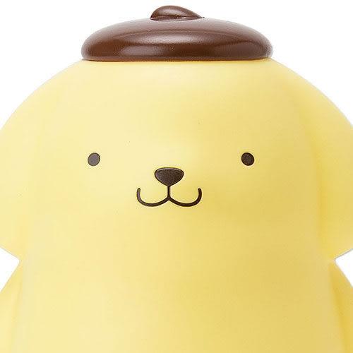 【震撼精品百貨】Pom Pom Purin 布丁狗~站姿全身造型迷你垃圾筒-黃色