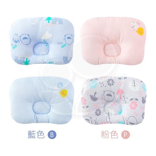 Piyo 黃色小鴨 雙面嬰兒定型枕(藍/粉)【佳兒園婦幼館】