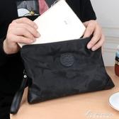 新款手包男帆布牛津布大容量時尚尼龍手拿包男士信封包個性潮 黛尼時尚精品