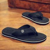 拖鞋男 正韓透氣人字拖鞋男士平跟休閒涼拖夏季夾拖防滑耐磨夾腳沙灘鞋潮 一次元
