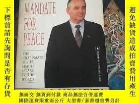 二手書博民逛書店Gorbachev:Mandate罕見For PeaceY158