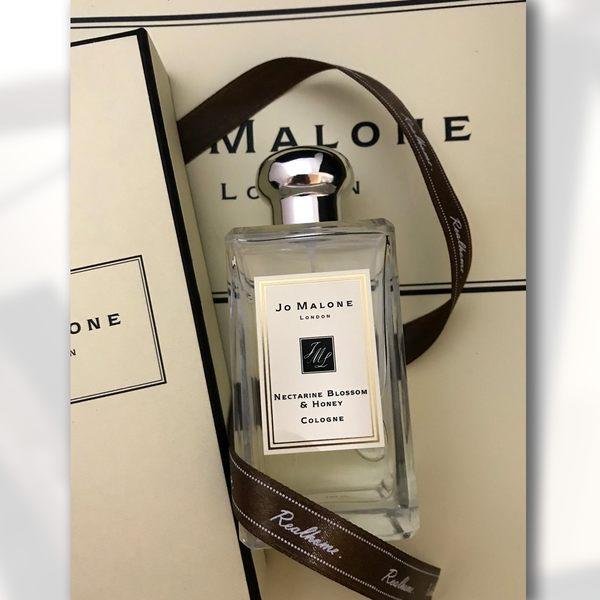 *禎的家* 英國香水名牌 Jo Malone 杏桃花與蜂蜜香水 100ML Nectarine Blossom & Honey