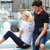 Big Train 中腰金虎爺刺繡男友褲-女BW6060