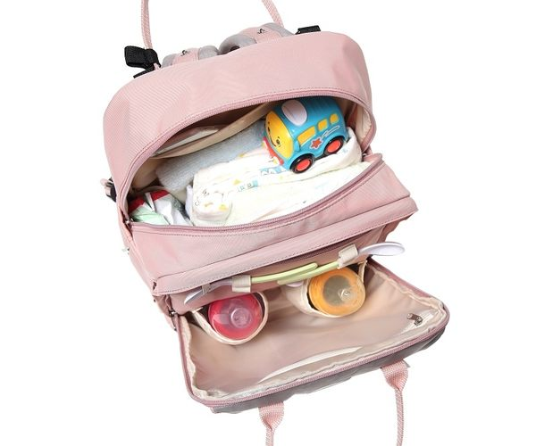 【Babytree】B1108 後背包 多功能媽媽包 旅行包 雙肩背包 流行女包 收納背包 防水尼龍包