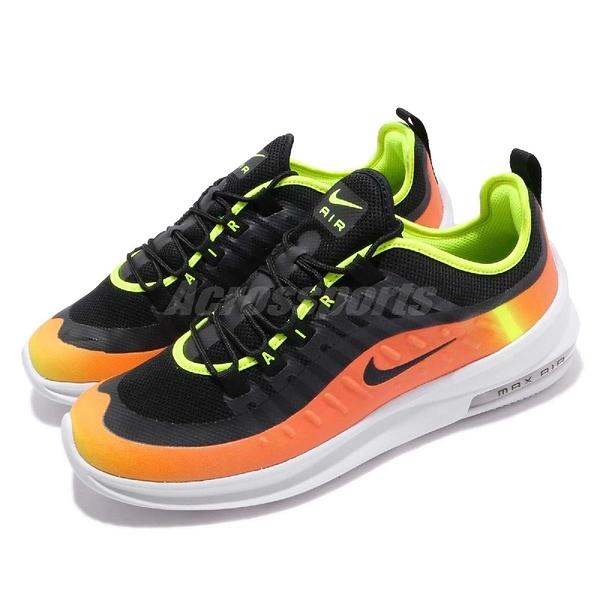 Nike 慢跑鞋 Air Max Axis PREM 黑 橘 氣墊 無縫外接透氣鞋面 運動鞋 男鞋【ACS】 AA2148-006
