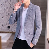 西裝外套休閒西裝男套裝秋季韓版修身小西服上衣帥氣外套潮流男裝搭配一套雙十二