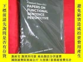 二手書博民逛書店Papers罕見on Functional Sentence P